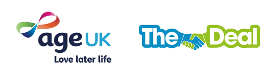 The Deal & Age UK Logos